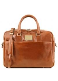 Мужская сумка портфель медового цвета Tuscany Leather TL141241 honey