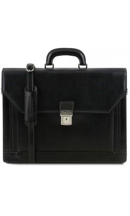Мужской портфель кожаный на 2 отделения Napoli Tuscany Leather TL141348