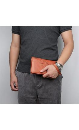 Клатч мужской коричневый Vintage 14196