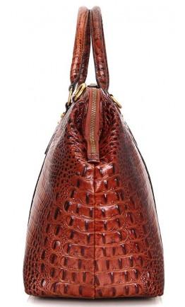 Коричневая сумка для командировок унисекс Vintage 14397