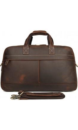 Дорожная коричневая винтажная сумка Vintage 14505