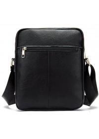 Мужская сумка через плечо черная Vintage 14649