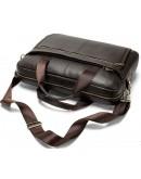 Фотография Коричневая деловая мужская сумка Vintage 14670