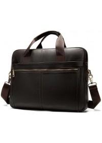 Коричневая деловая мужская сумка Vintage 14670