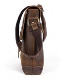 Фотография Сумка через плечо мужская кожаная винтажная Vintage 14675