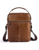 Фотография Мужская сумка-барсетка светло-коричневого цвета Vintage 14707