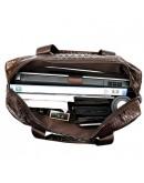 Фотография Мужская сумка для ноутбука с тиснением Vintage 14719