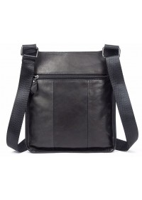 Кожаная сумка на плечо - планшетка мужская Vintage 14732