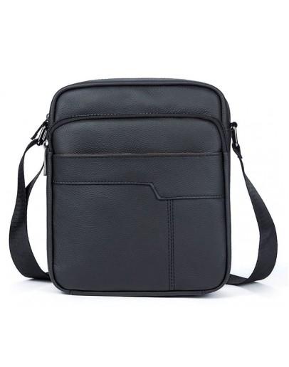 Фотография Мужская сумка на плечо из натуральной кожи флотар Vintage 14743