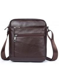 Мужская коричневая компактная сумка Vintage 14746
