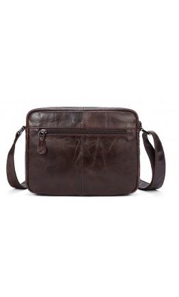 Мужская сумка кожаная коричневая Vintage 14767