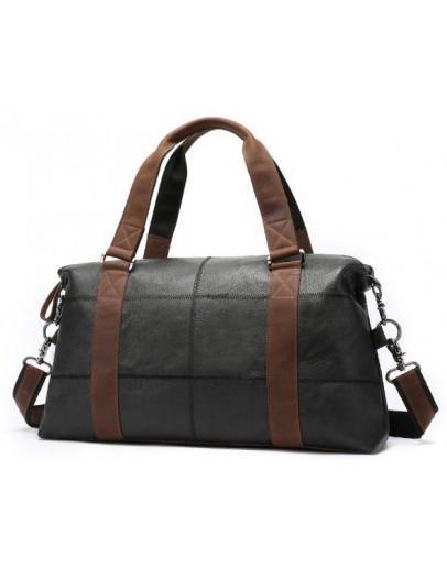 Фотография Дорожная сумка мужская кожаная Vintage 14773