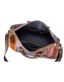 Фотография Оригинальная мужская кожаная дорожая сумка 14779