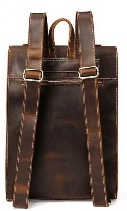 Вместительный мужской винтажный рюкзак Vintage 14796