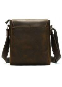 Мужская матовая винтажная сумка на плечо Vintage 14804