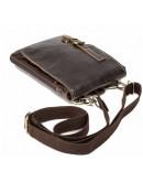 Фотография Мужская коричневая небольшая сумка на плечо Vintage 14810