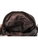 Фотография Коричневая женская кожаная сумка - трансформер Vintage 14812