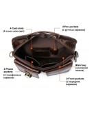Мужская кожаная сумка - барсетка Vintage 14819