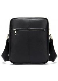 Мужская черная сумка на плечо Vintage 14828