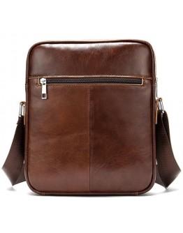 Мужская коричневая сумка на плечо Vintage 14830