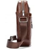 Фотография Мужская коричневая сумка на плечо Vintage 14830