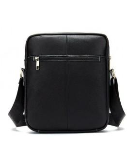Черная мужская сумка на плечо Vintage 14832