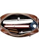 Фотография Черная мужская сумка на плечо Vintage 14832