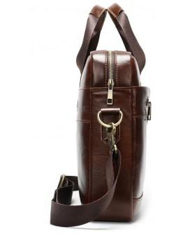 Сумка мужская деловая коричневая Vintage 14837