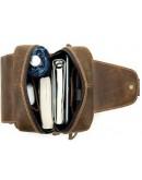 Фотография Коричневый мужской слинг винтажный Vintage 14855