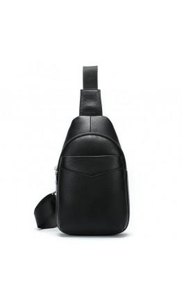 Черный мужской слинг Vintage 14857