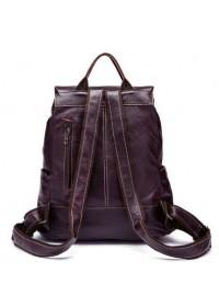 Мужской серо-коричневый кожаный рюкзак Vintage 14874