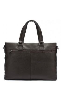 Коричневая мужская деловая кожаная сумка Vintage 14880
