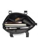 Фотография Коричневая мужская деловая кожаная сумка Vintage 14880