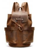 Фотография Мужской кожаный винтажный рюкзак Vintage 14888
