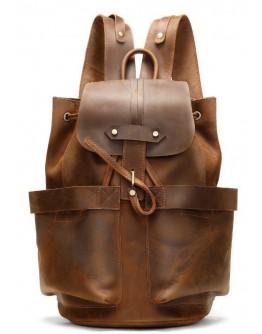 Мужской кожаный винтажный рюкзак Vintage 14888
