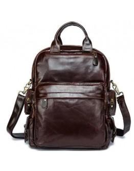 Коричневая удобная мужская кожаная сумка Vintage 14889