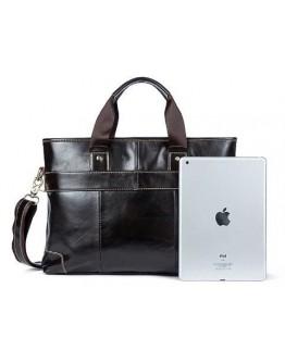 Мужская кожаная сумка для ноутбука Vintage 14890