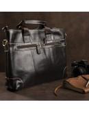 Фотография Мужская кожаная сумка для ноутбука Vintage 14890
