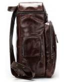 Фотография Вместительный мужской кожаный рюкзак Vintage 14892