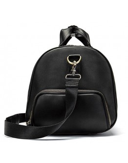 Мужская черная дорожная сумка Vintage 14894