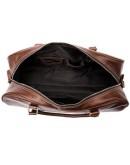 Фотография Коричневая кожаная сумка для командировок Vintage 14896
