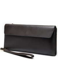 Коричневый клатч кожаный Vintage 14903