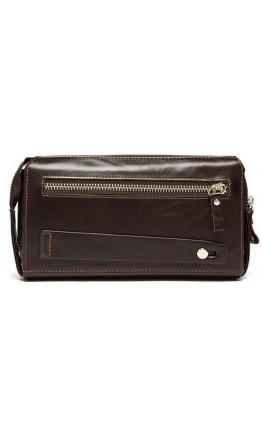 Мужской клатч коричневый кожаный Vintage 14907