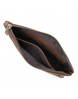 Большой мужской кожаный винтажный клатч Vintage 14954