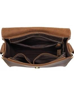Небольшая корчиневая винтажная сумка на плечо Vintage 14980
