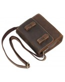 Фотография Небольшая корчиневая винтажная сумка на плечо Vintage 14980