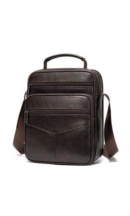 Мужская коричневая сумка на плечо Vintage 14991