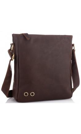 Коричневая сумка мужская через плечо NM15-0016R