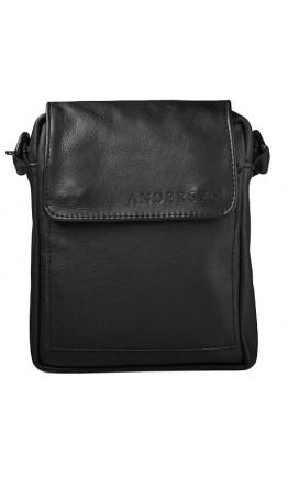 Мужская небольшая кожаная сумка на плечо Andersen 150522