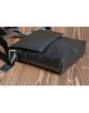 Фотография Повседневная черная сумка мужская на плечо 1506-1